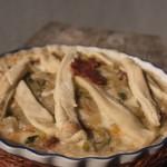 torta patate e salame piccante