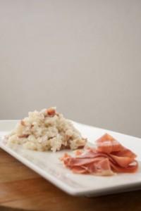 risotto Prosciutto Crudo di Parma e Parmigiano Reggiano