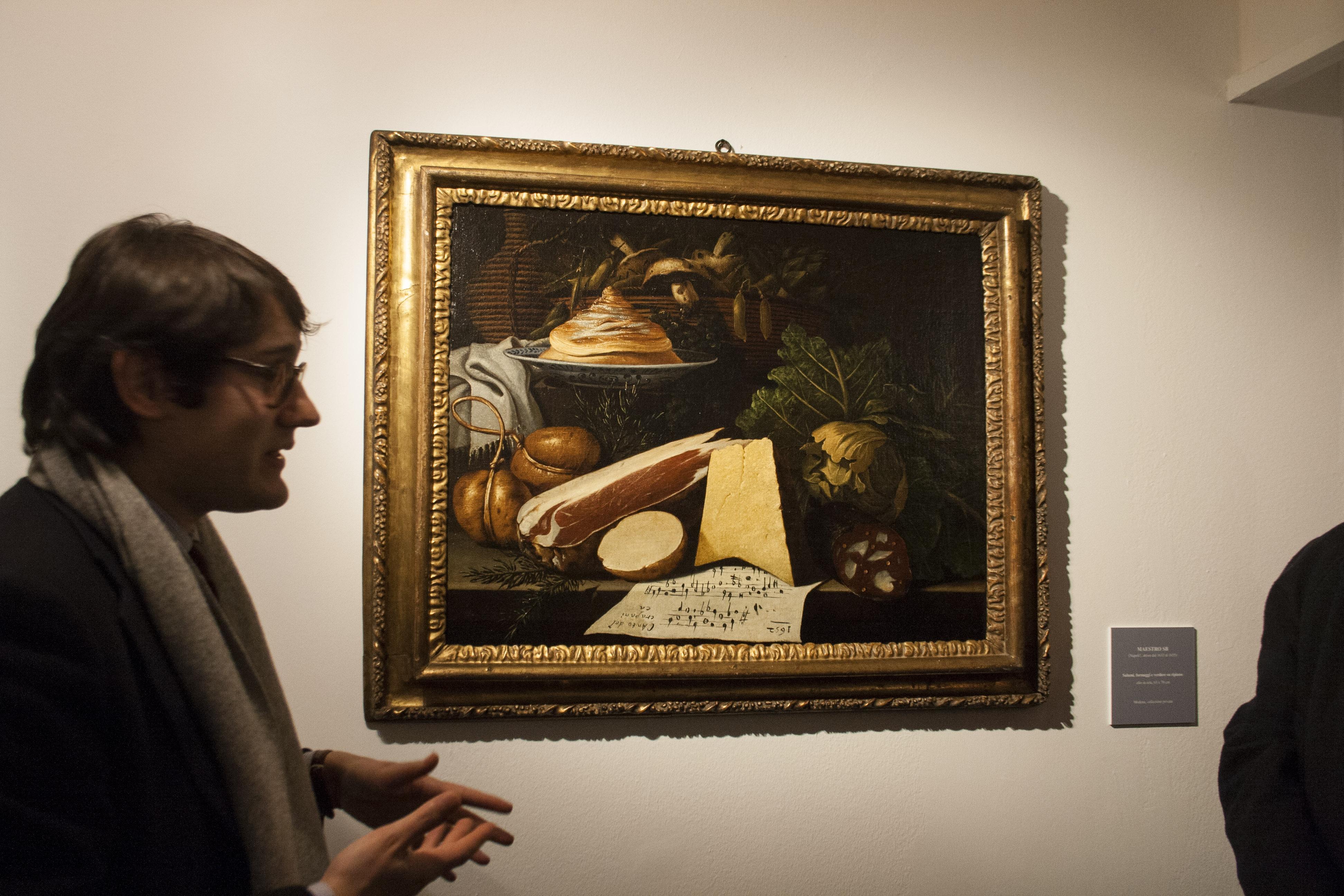Il cibo nell 39 arte brescia palazzo martinengo 24 1 14 6 2015 for Palazzo 24